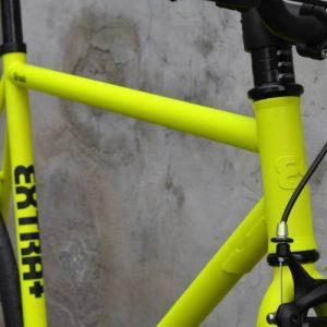 cadre velo a pignon fixe extra-strada-fixie-jaune